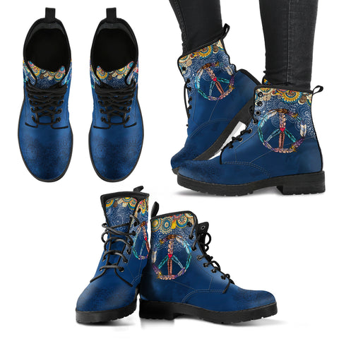 Peace and Boho Women's Leather Boots