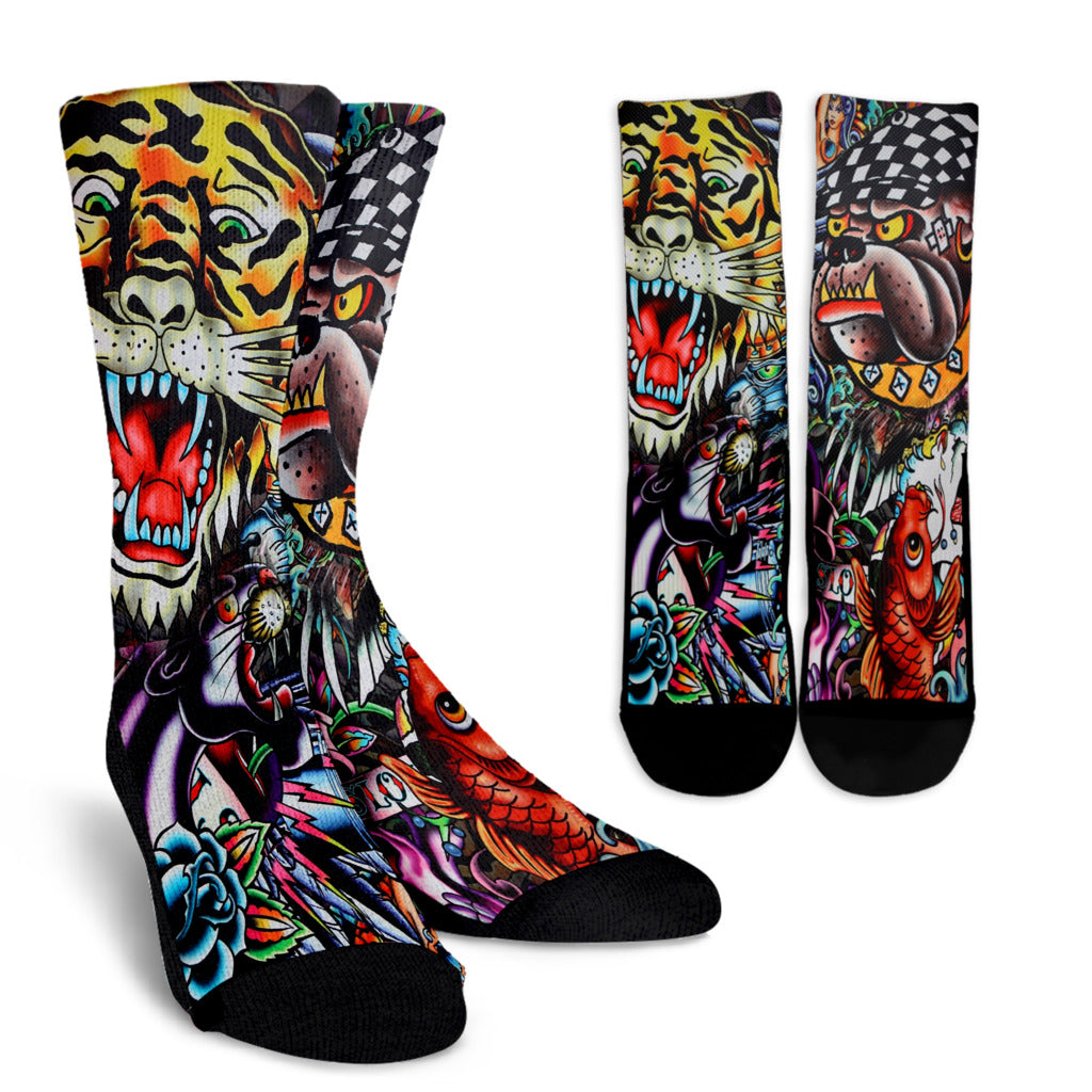 Tattoo Art Crew Socks