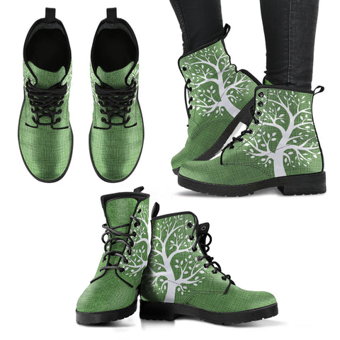 Tree of Life Women's Leather Boots