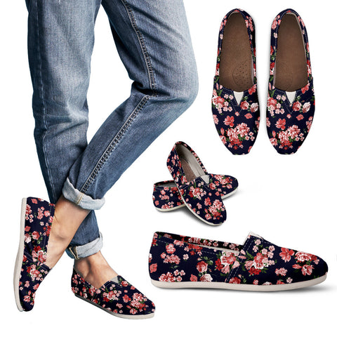 Floral  Handcrafted Casual Shoes