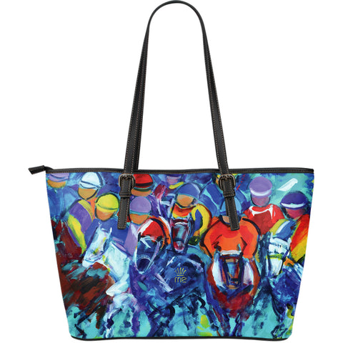 Fast riders Large Tote Bag