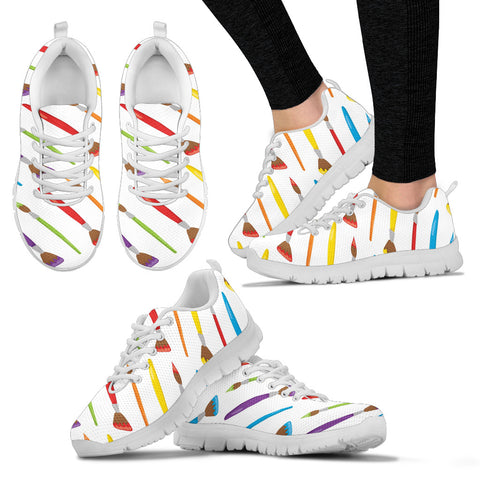 Paint Brush Women's Sneakers