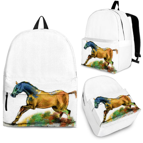 Running Horse Backpack