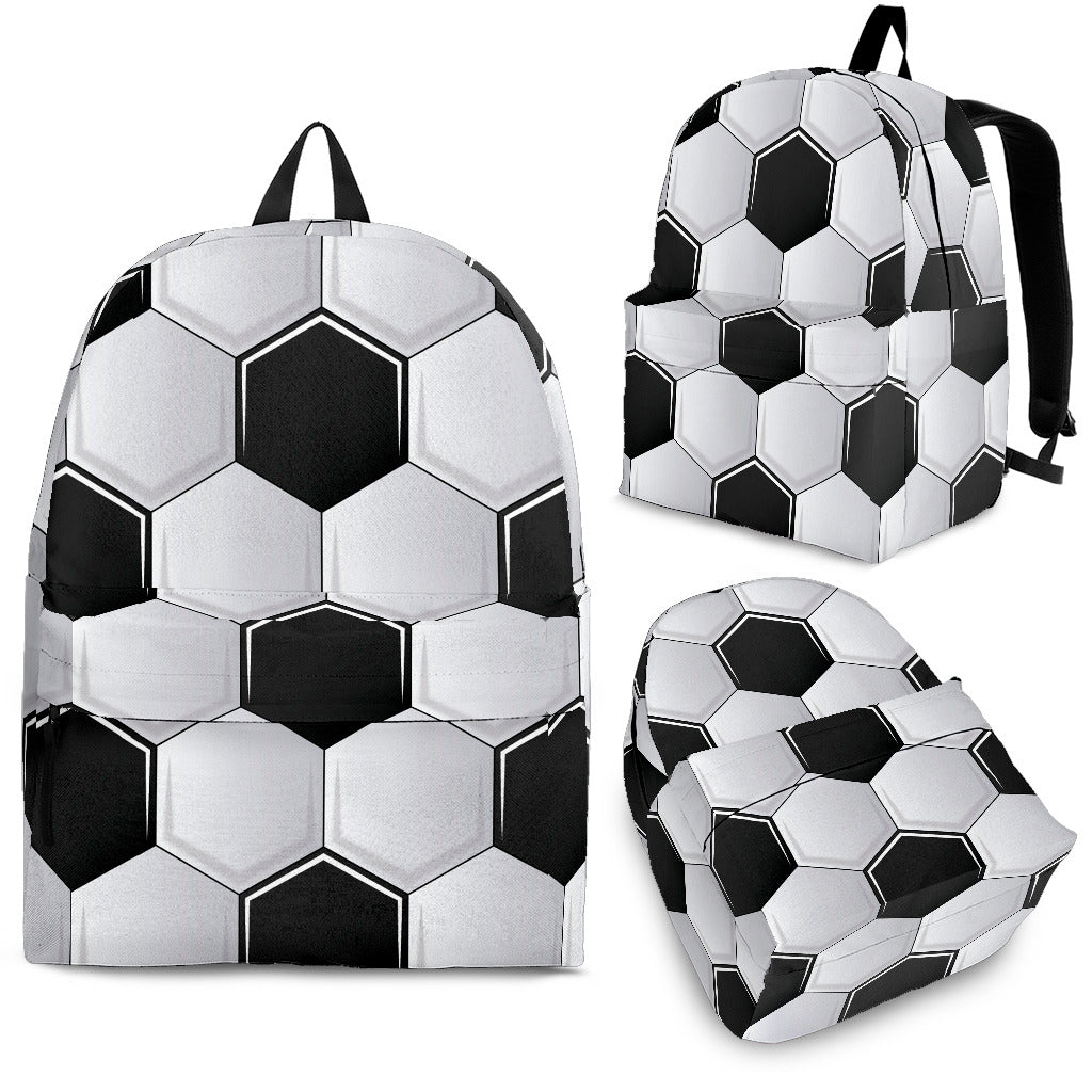Soccer Ball Pattern Backpack