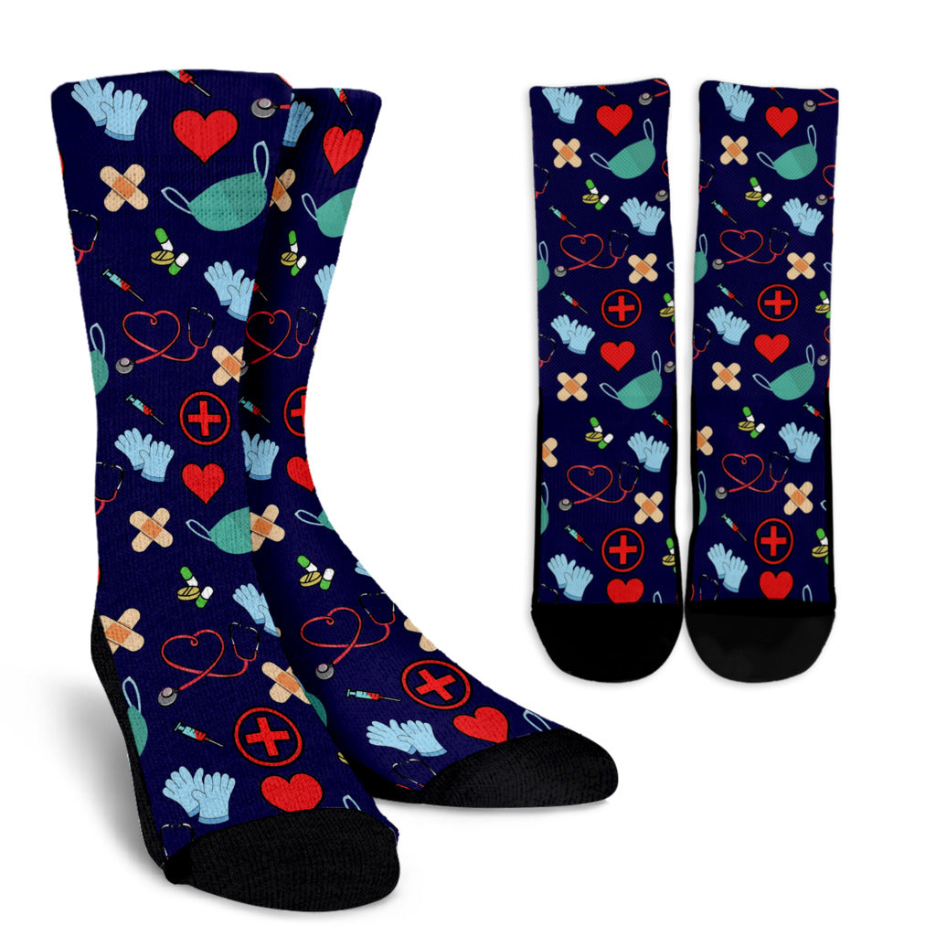 Nursing Crew Socks