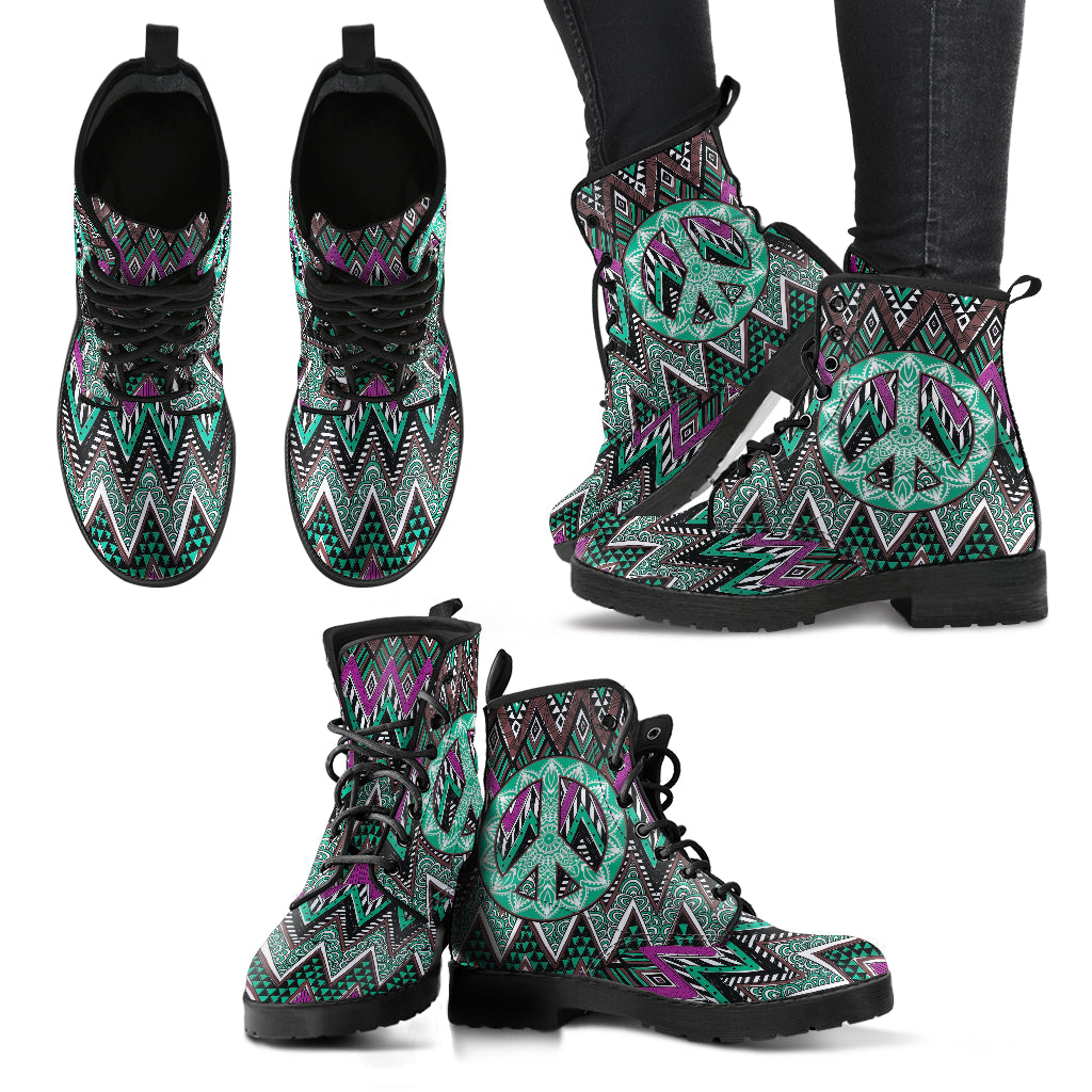 Boho Peace Women's Leather Boots