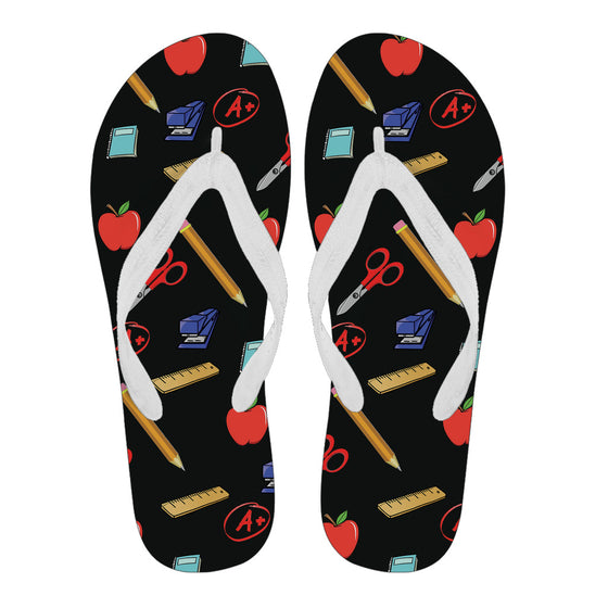 Teacher Appreciation Men's Flip Flops