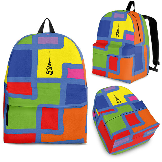 Backpack Square Colors