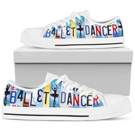 Ballet Dancer  Low Top Shoes