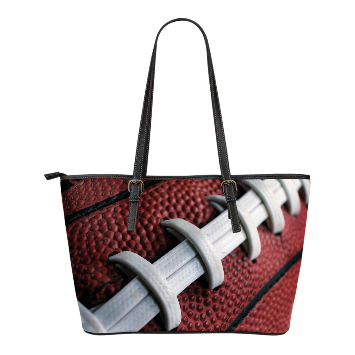 Football Small Leather Tote