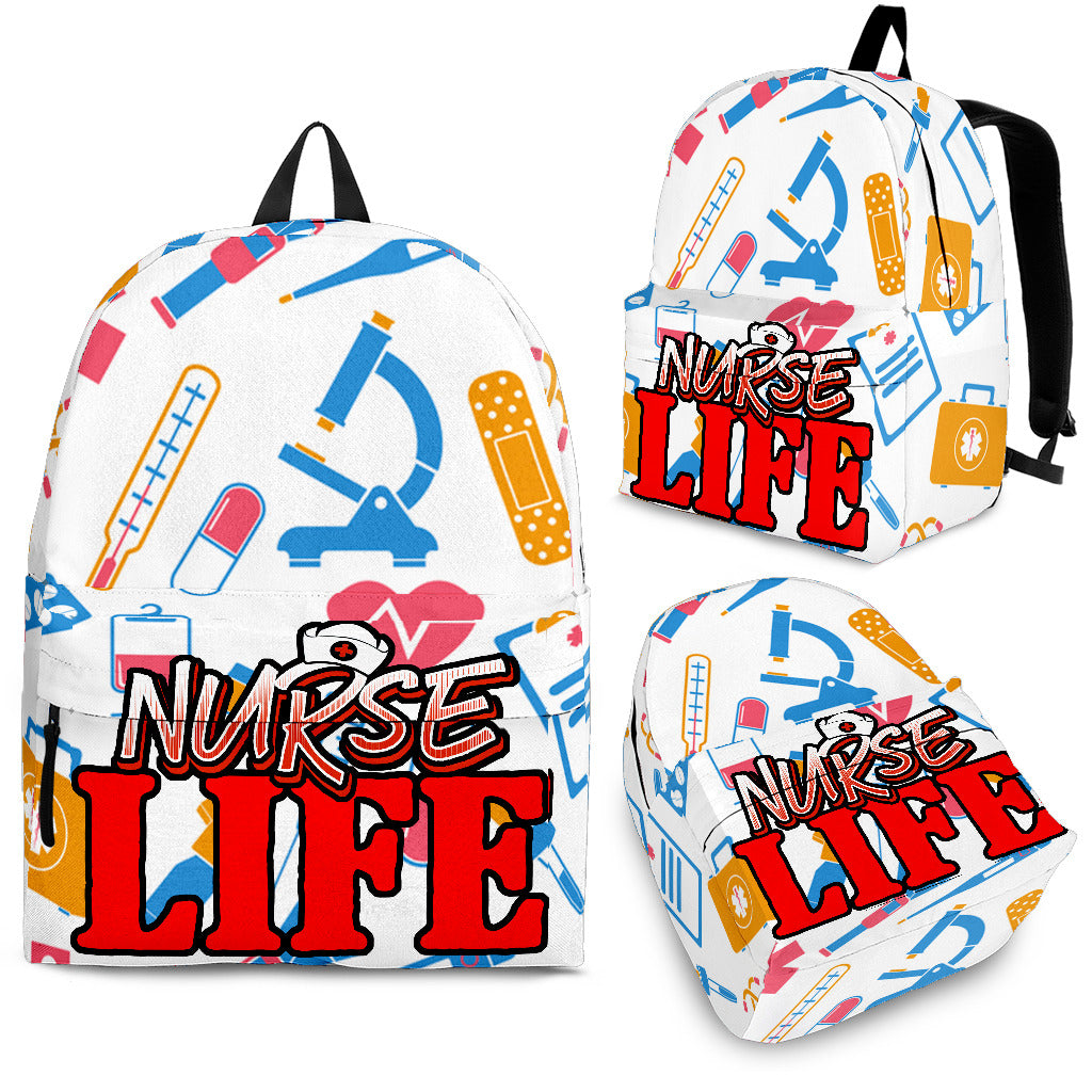 NURSE LIFE BACKPACK