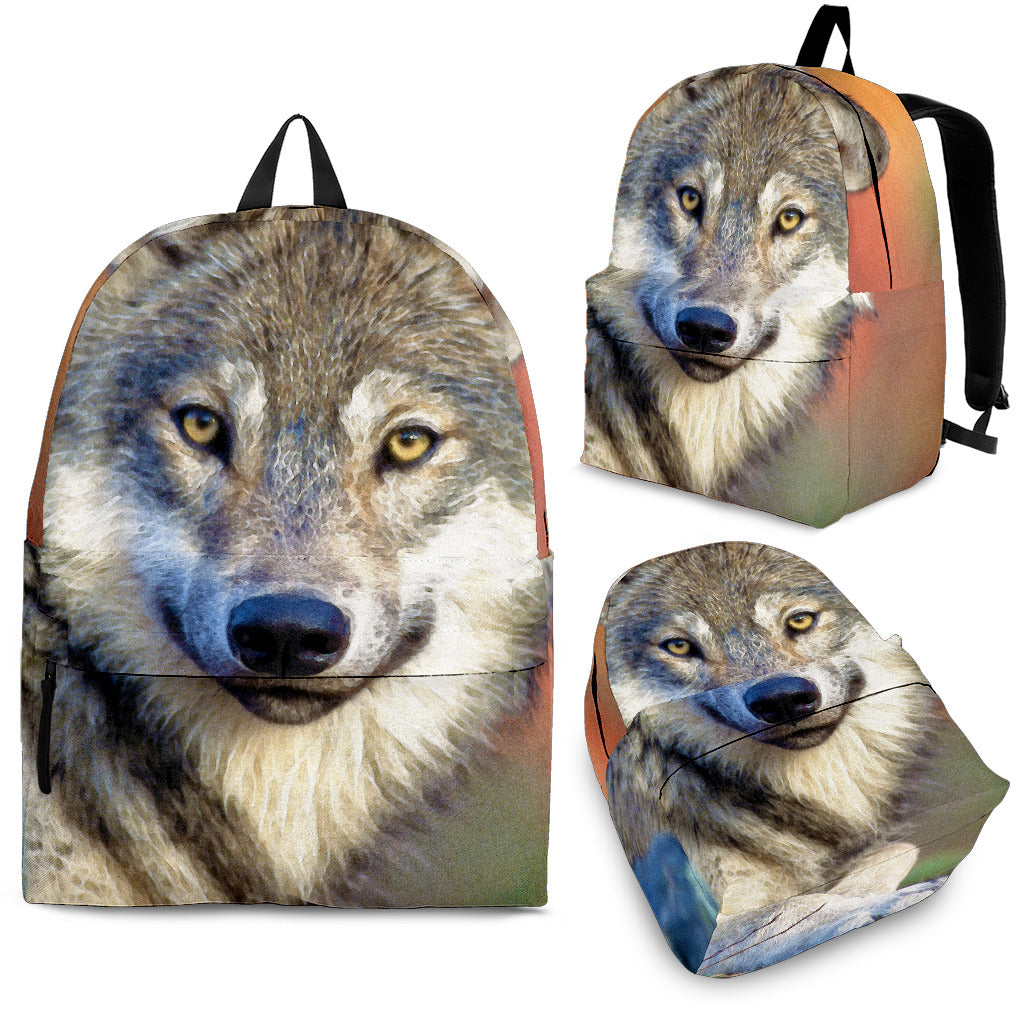 Kid's Backpack Wolf