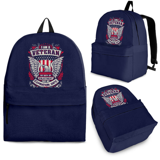 Proud Veteran Backpack