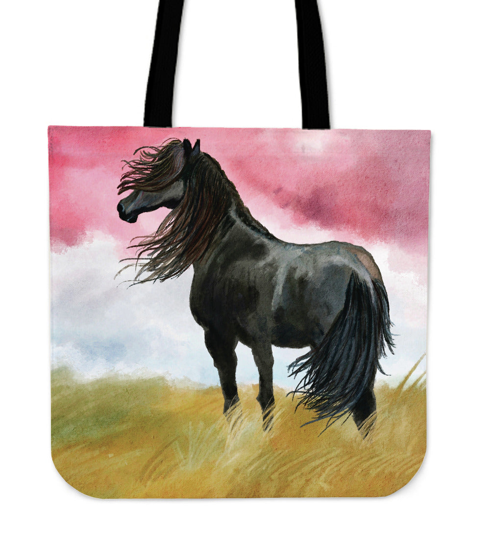 Art Horse Cloth Tote Bag