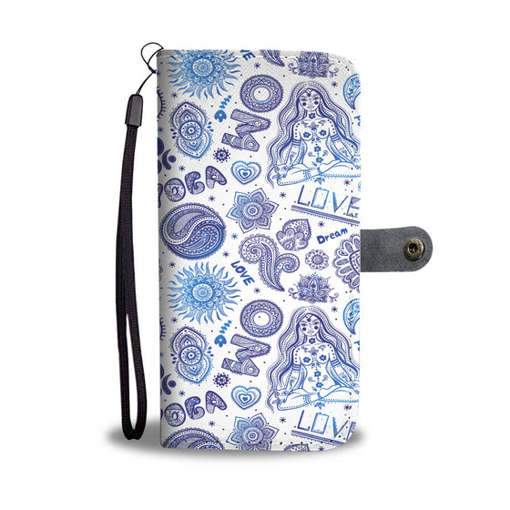 Yoga Love Wallet Case