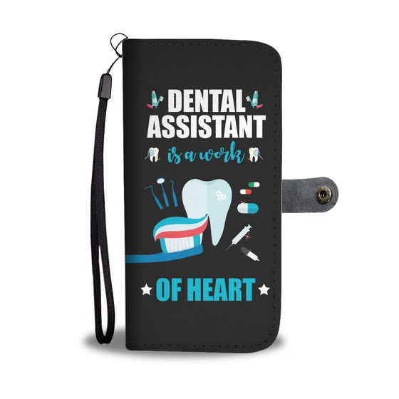 Dental Assistant Wallet Case