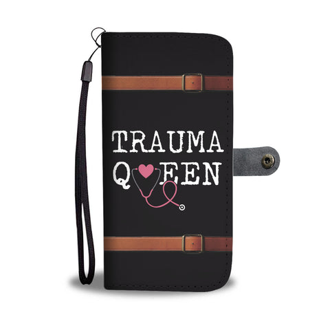 Trauma Queen Wallet Case