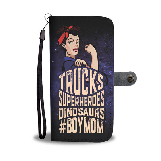#Boymom Wallet Case