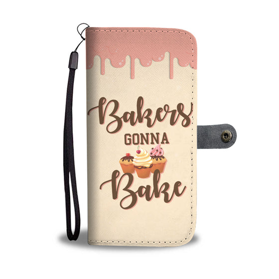 Bakers Gonna Bake Wallet Case
