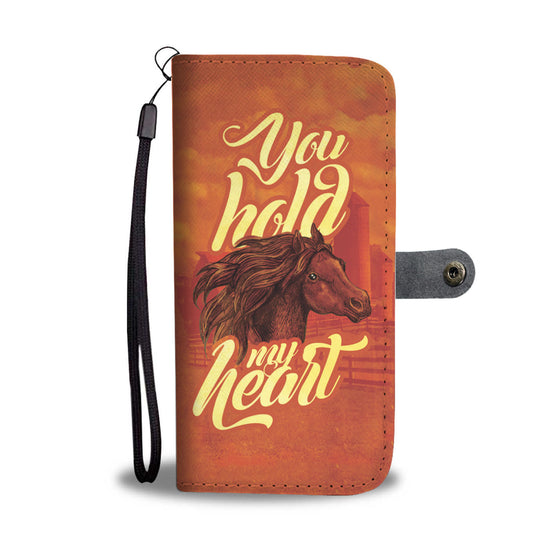 Horse You Hold My Heart Wallet Case