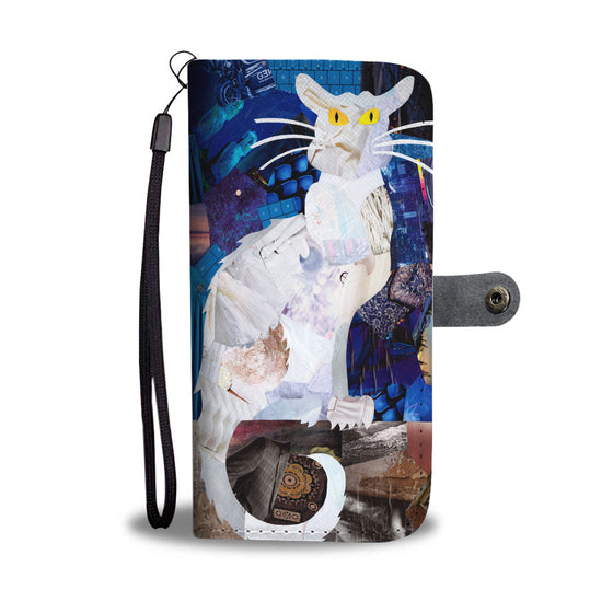 Artpoptart Cat Wallet Case