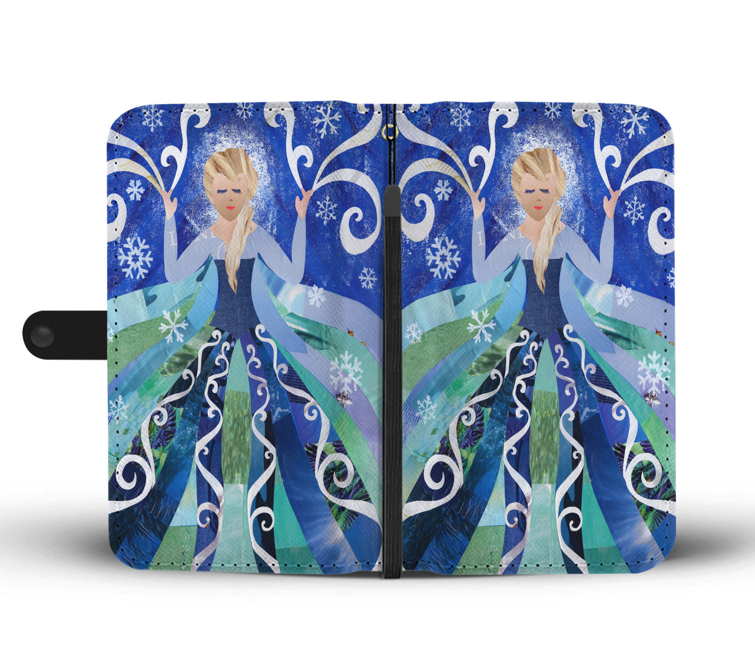 Artpoptart Ice Princess Wallet Case