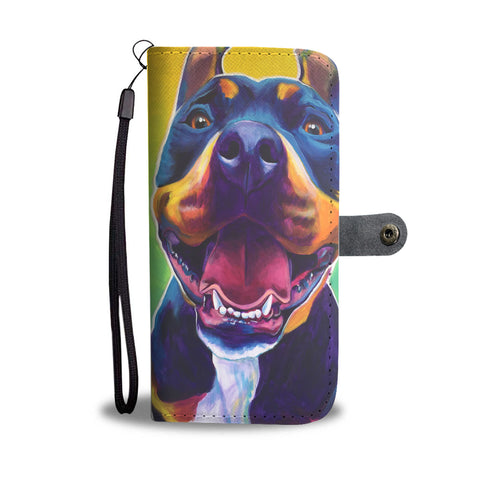 Pitbull Dawgart Wallet Phone Case