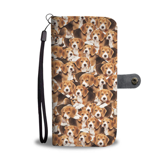 Beagles Wallet Case