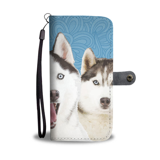Huskies Wallet Case