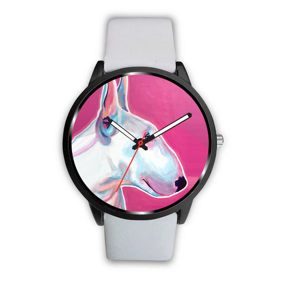 Bull Terrier by Dawgart Custom Watch