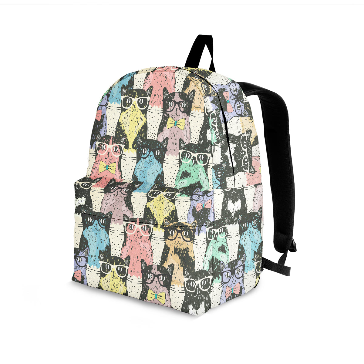 Cat Glasses Backpack