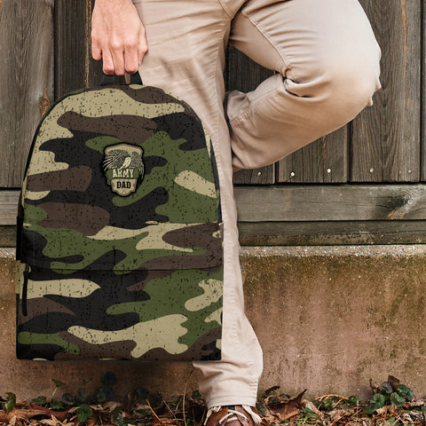 Army Mom Camouflage Backpack