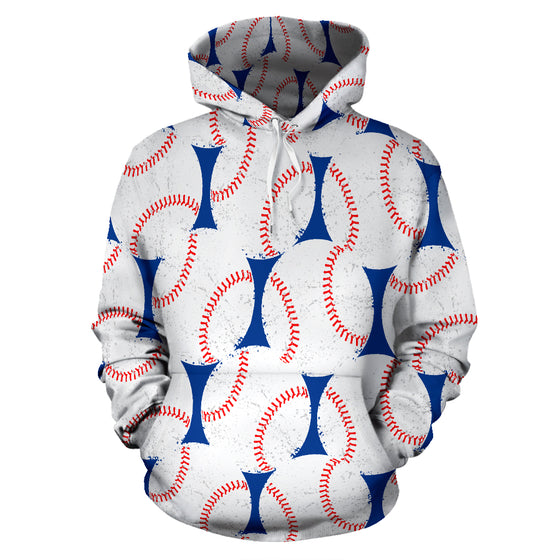 Baseball Love All Over Hoodie