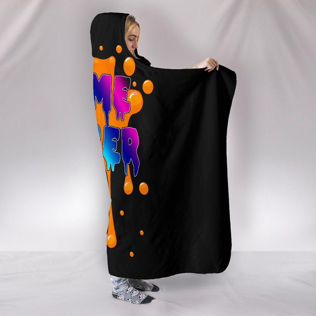 Slime Maker Hooded Blanket
