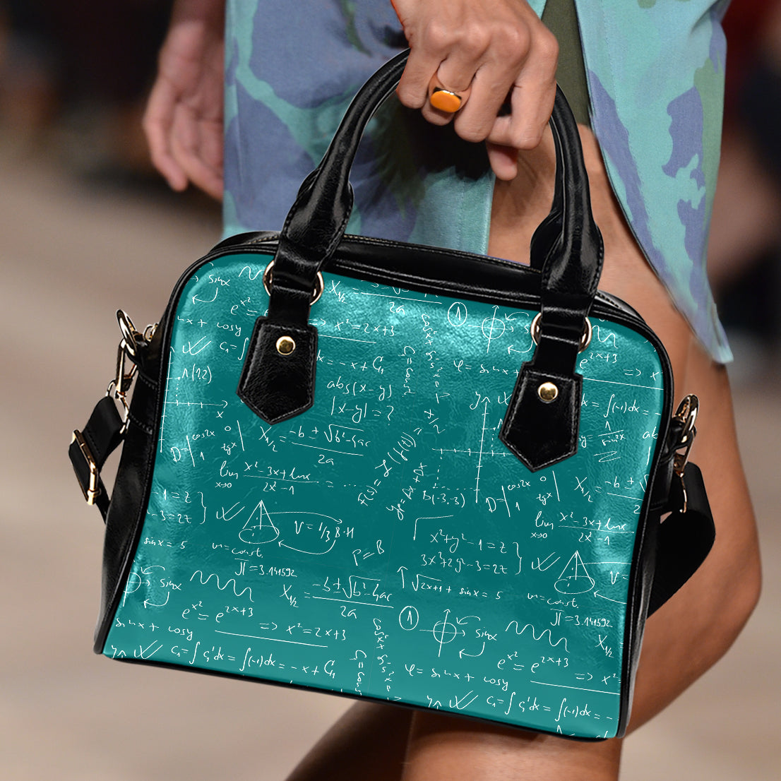 Math Teacher Handbag