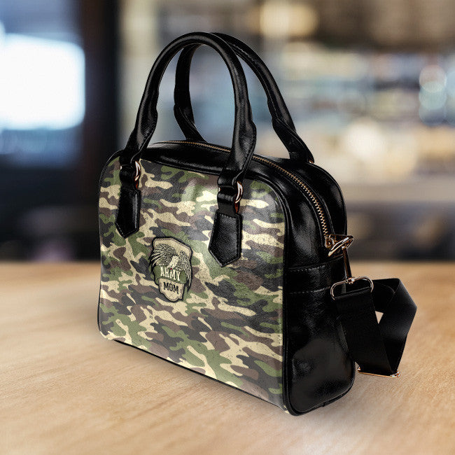 Army Mom Camouflage Handbag