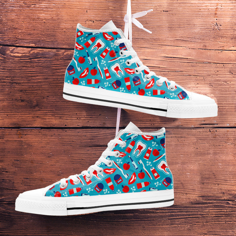 Dental Pattern High Tops
