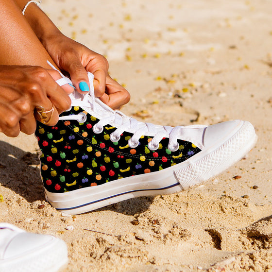 Bitmap Fruit Womens High Tops