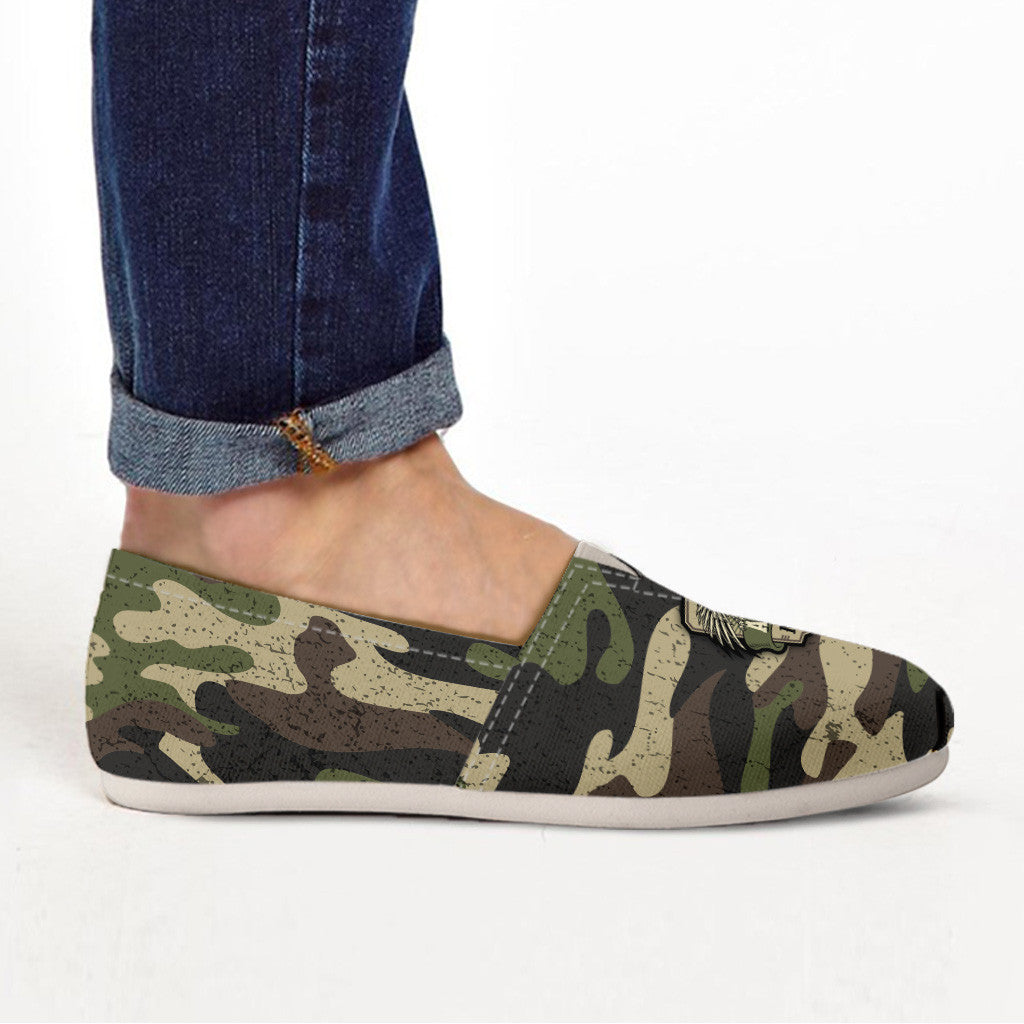 Army Mom Camouflage Ladies Casuals