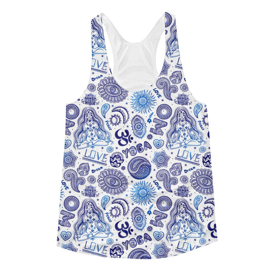 Yoga Love Women's Racerback Tank