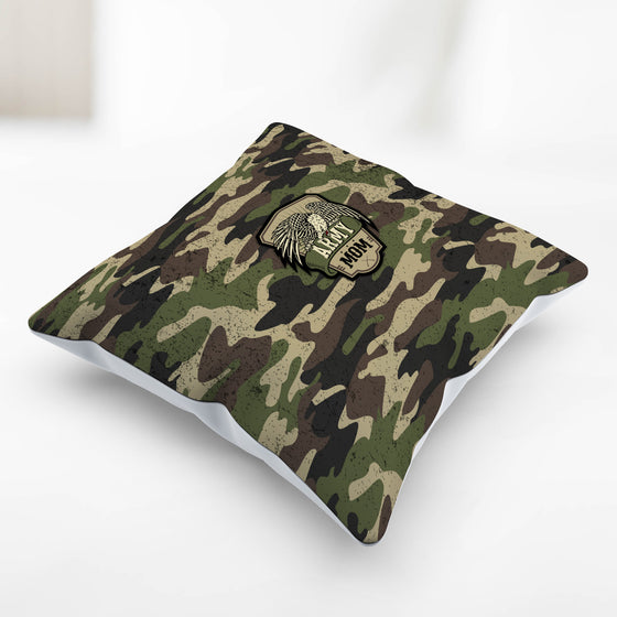 Army Mom Camouflage Pillowcase