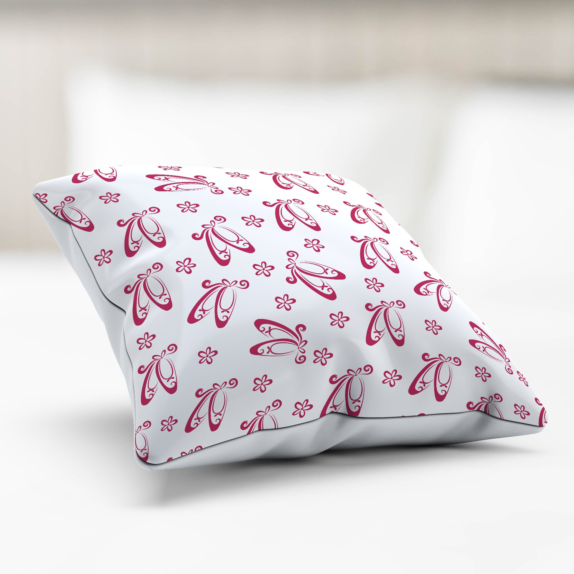 Ballet Slippers Pillowcase