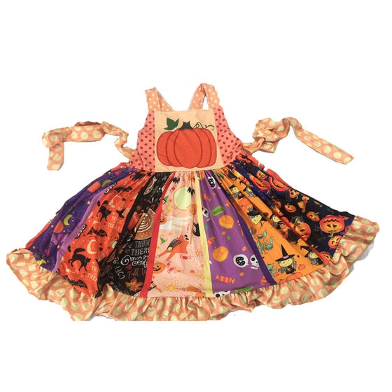 Pumpkin Delight Halloween Dress