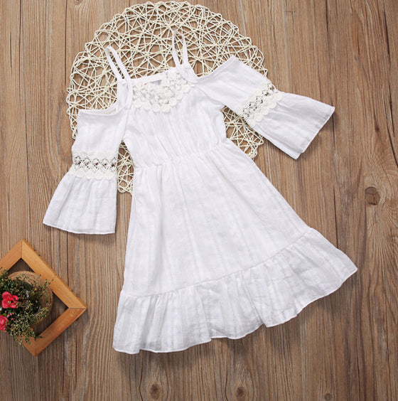 Summer Beach Lace Dress