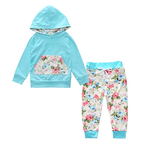Hooded/Long-Sleeve Baby Clothing Sets (Boys and Girls)