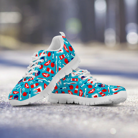 Dental Pattern Sneakers