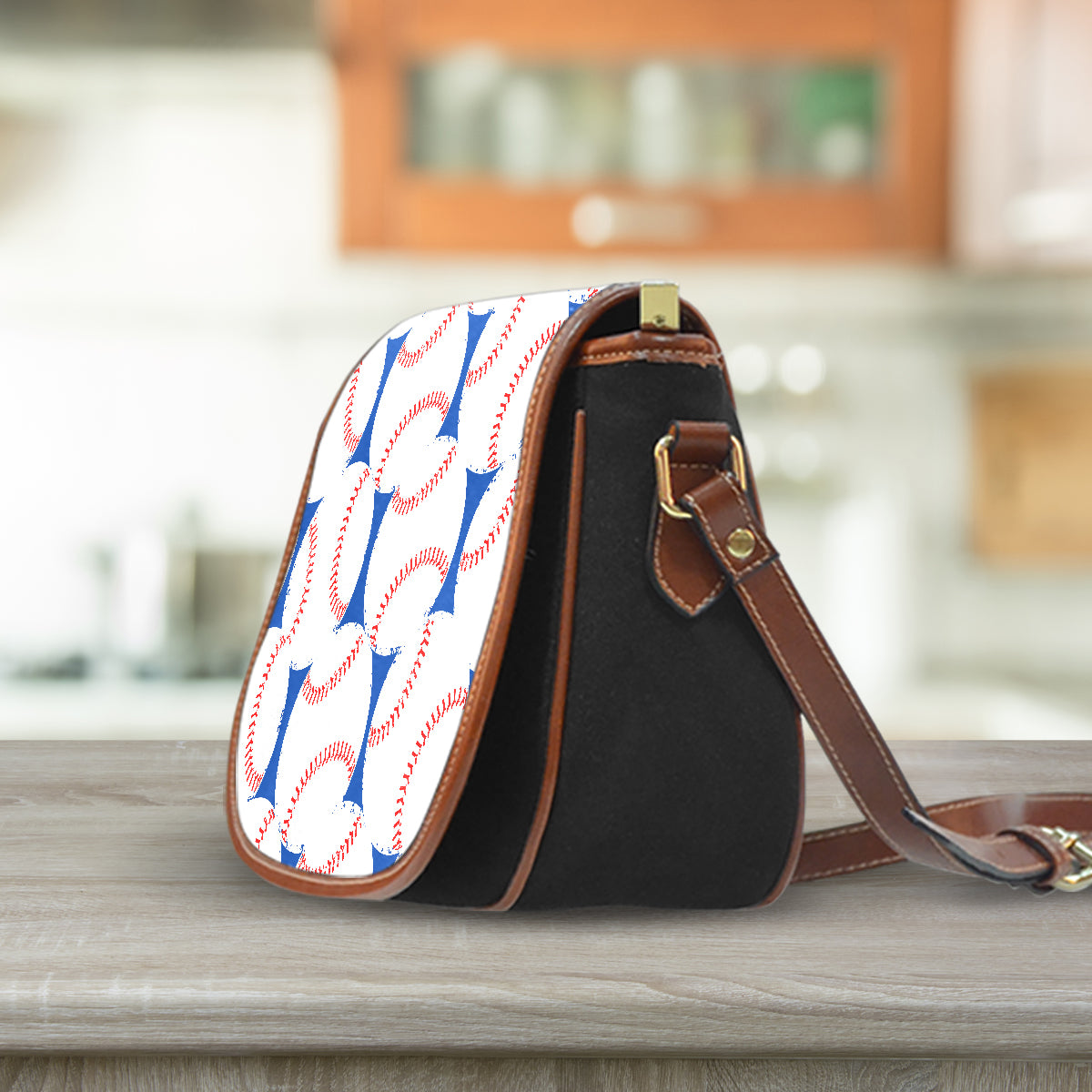 Baseball Love Saddle Bag