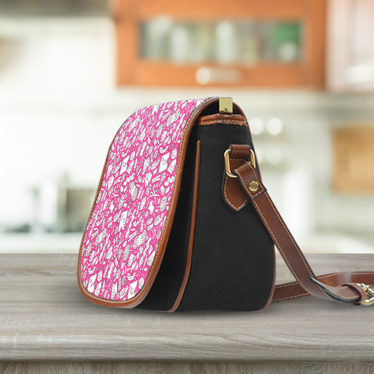 Needlework Saddle Bag