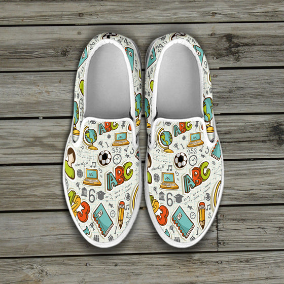 School Days Slip Ons