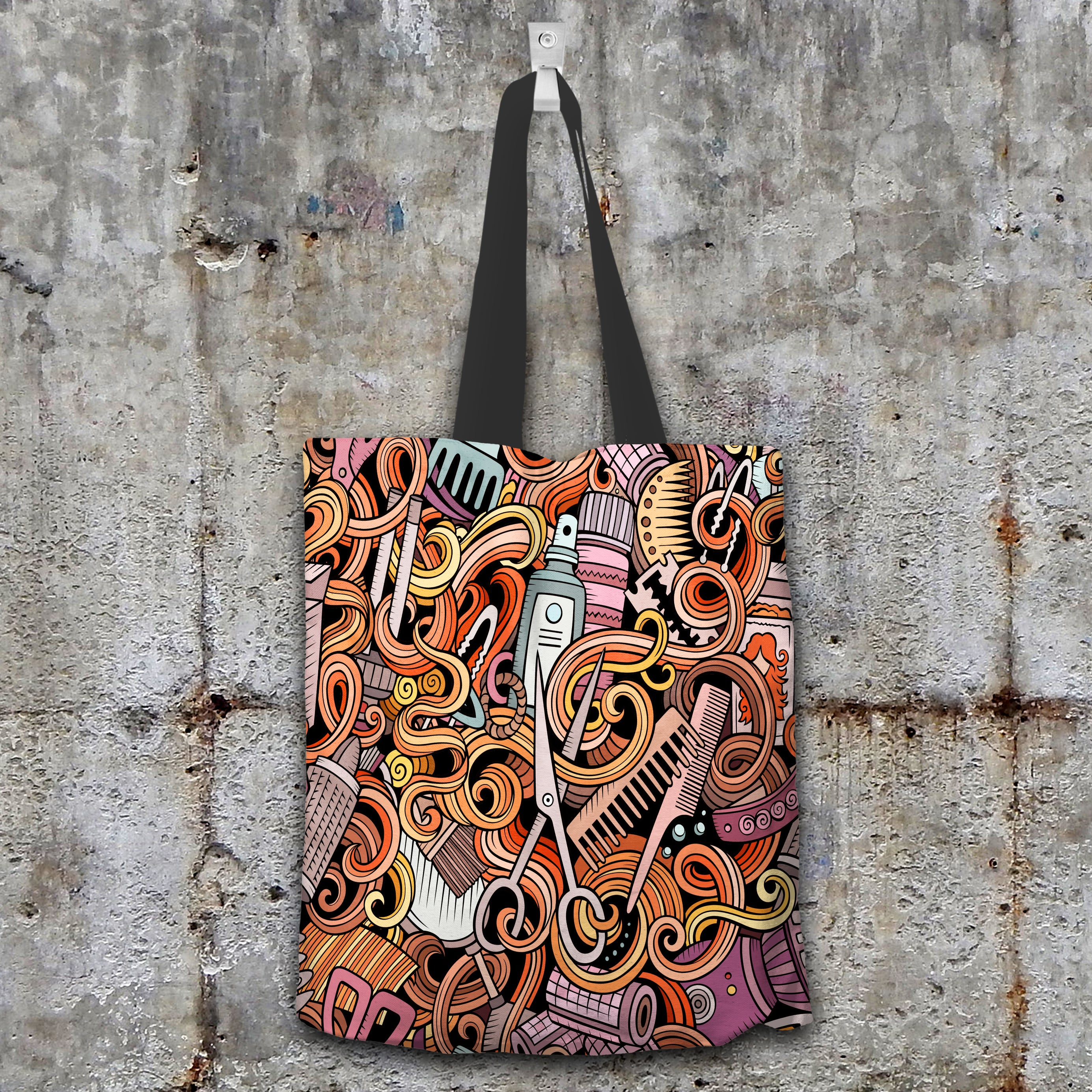 Hairdresser Tote Bag